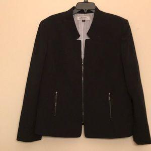 NWT Tahari Levine Women's Black Blazer 18